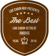 Log Cabin Hub - Best Log Cabin Holiday Awards Badge